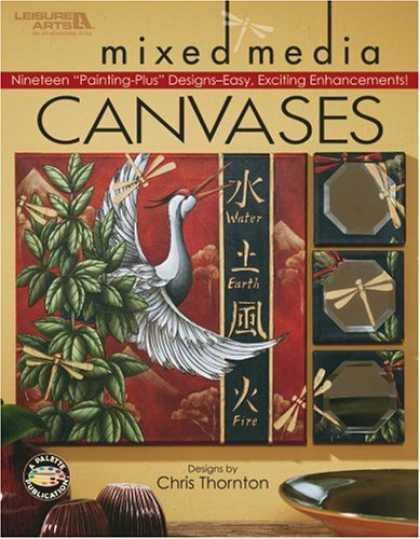 Books About Media - Mixed Media Canvases (Leisure Arts #22626)
