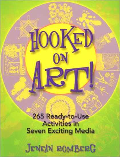 Books About Media - Hooked on Art!: 265 Ready-To-Use Activities in 7 Exciting Media