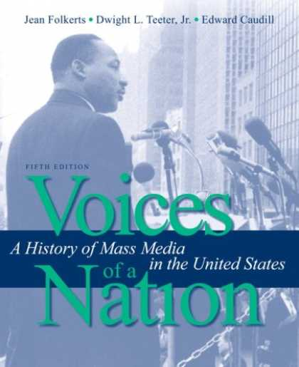 Books About Media - Voices of a Nation: A History of Mass Media in the United States (5th Edition)