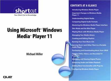 Books About Media - Using Microsoft Windows Media Player 11