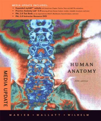 Books About Media - Human Anatomy, Media Update (5th Edition)