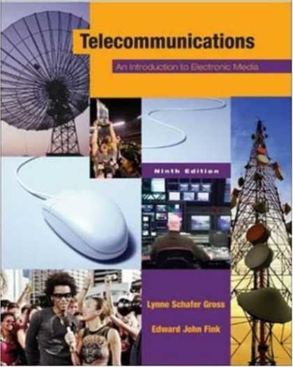 Books About Media - Telecommunications: An Introduction to Electronic Media with PowerWeb