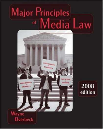 Books About Media - Major Principles of Media Law, 2008 Edition