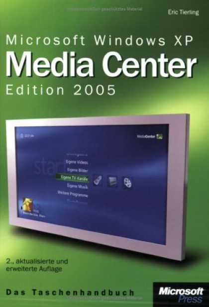 Books About Media - Microsoft Windows XP Media Center Edition 2005