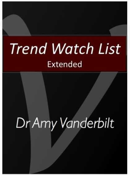 Books About Media - Trend Watch List Extended - Social Media Driving the Pace of Business
