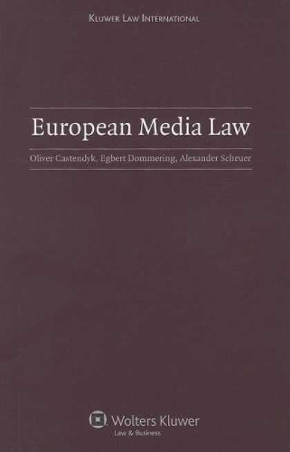 Books About Media - European Media Law