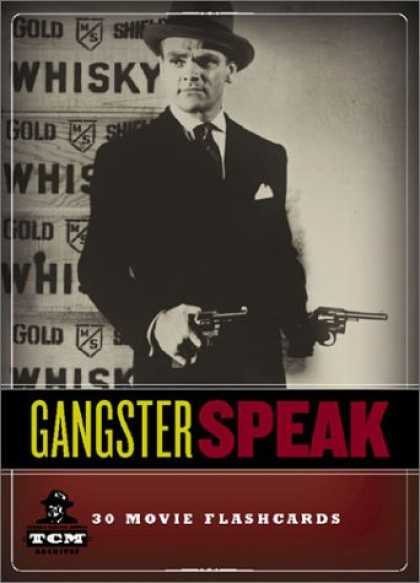 Books About Movies - Gangster Speak: 30 Movie Flashcards (Turner Classic Movies)