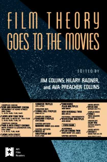 Books About Movies - Film Theory Goes to the Movies (AFI Film Readers)