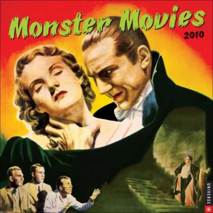 Books About Movies - Monster Movies: 2010 Wall Calendar