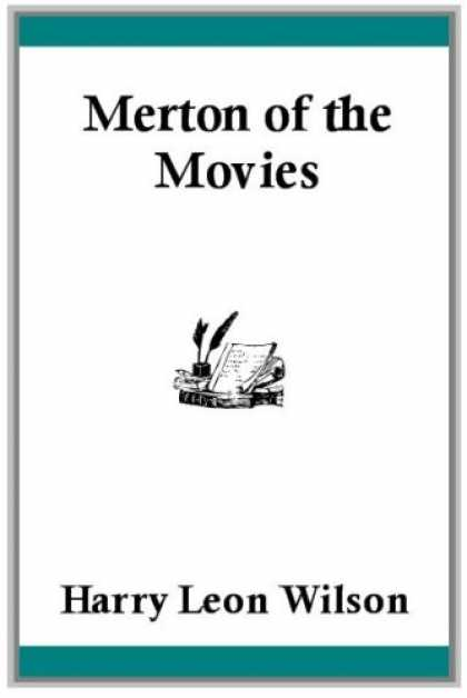 Books About Movies - Merton of the Movies