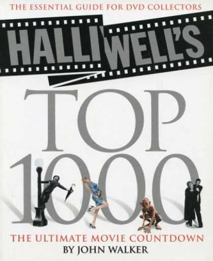 Books About Movies - Halliwell's Top 1000: The Ultimate Movie Countdown