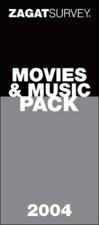 Books About Movies - Zagatsurvey Movies & Music Pack 2004: Top Films & Albums of All Time : Movie Gui