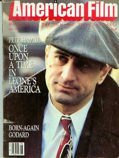 Books About Movies - American Film Magazine June 1984 - Robert DeNiro (Vol. IX, No. 8)