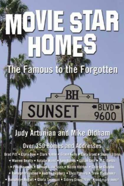 Books About Movies - Movie Star Homes: The Famous to the Forgotten