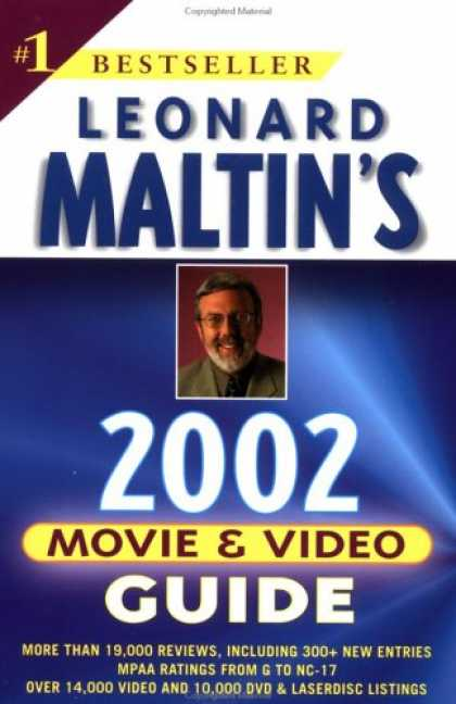 Books About Movies - Leonard Maltin's Movie and Video Guide 2002