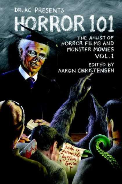 Books About Movies - Horror 101: The A-List of Horror Films and Monster Movies