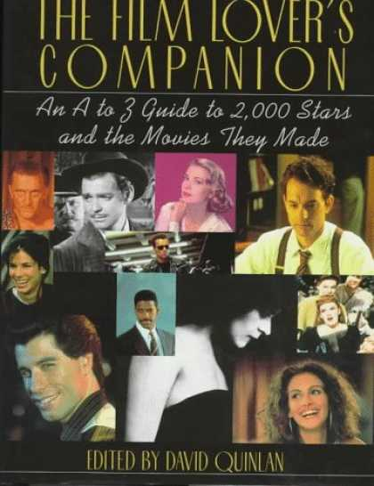 Books About Movies - The Film Lover's Companion: An A to Z Guide to 2,000 Stars and the Movies They M