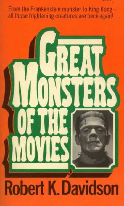 Books About Movies - Great Monsters of the Movies