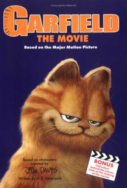 "Books About Movies - ""Garfield"" the Movie"