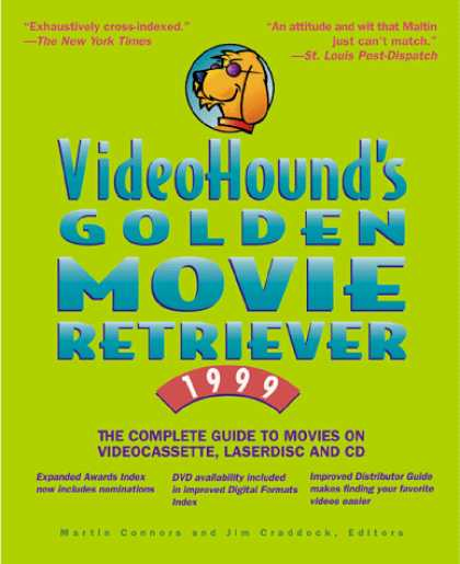 Books About Movies - VideoHound's Golden Movie Retriever 99 : The Complete Guide to Movies on Videoc