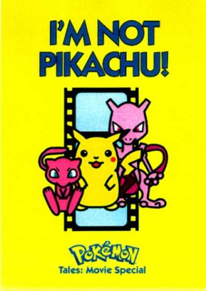 Books About Movies - I'm Not Pikachu!: Pokemon Tales Movie Special (Pokemon Tales)