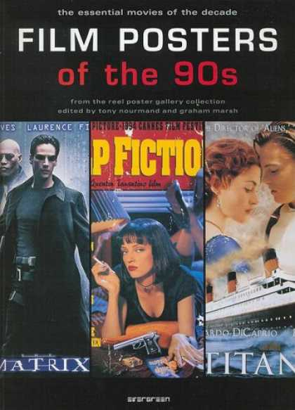 Books About Movies - Film Posters of the 90s: The Essential Movies of the Decade