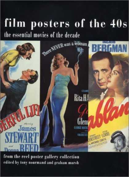 Books About Movies - Film Posters of the Forties: The Essential Movies of the Decade