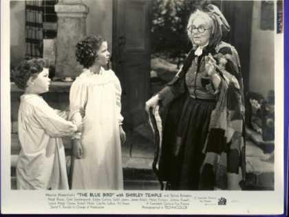 "Books About Movies - Shirley Temple ""The Blue Bird"" Vintage 8 X 10 Black & White Movie Still 442/36"