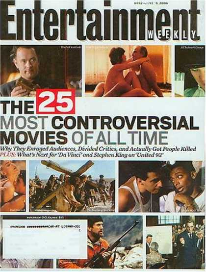 Books About Movies - Entertainment Weekly June 16 2006 - Controversial Movies (#882)