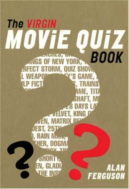 Books About Movies - The Virgin Movie Quiz Book