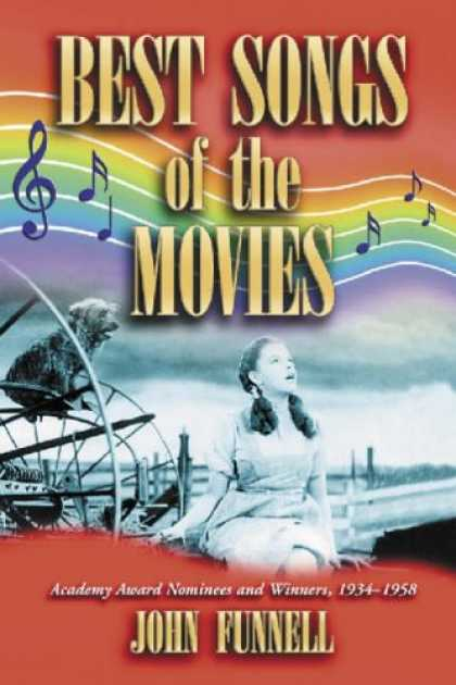 Books About Movies - Best Songs of the Movies: Academy Award Nominees and Winners, 1934-1958
