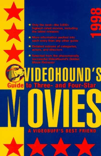 Books About Movies - 1998 Videohound's Guide to Three and Four Star Movies (Video Hounds Guide to Thr