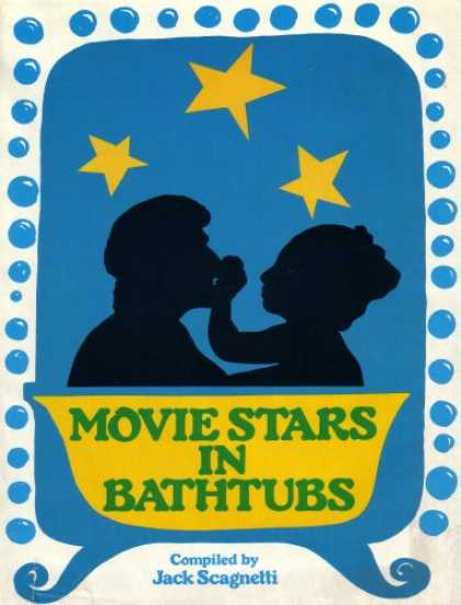 Books About Movies - Movie Stars in Bathtubs (Blue Hardcover 1975 Printing)
