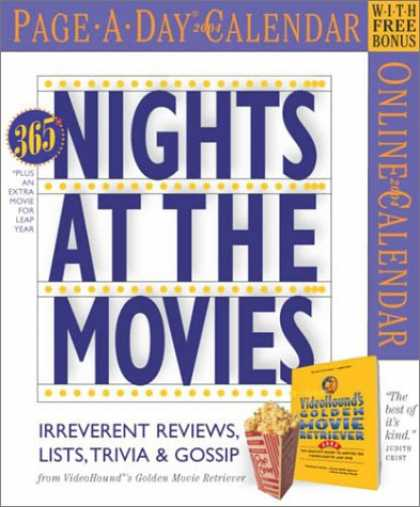 Books About Movies - Nights at the Movies Page-A-Day Calendar 2004 (Page-A-Day(r) Calendars)