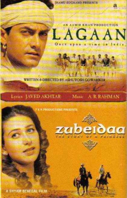Books About Movies - Lagaan: Once Upon a Time in India / Zubeidaa: The Story of a Princess (Inidan mo