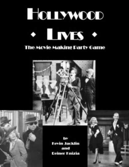 Books About Movies - Hollywood Lives: The Movie Making Party Game