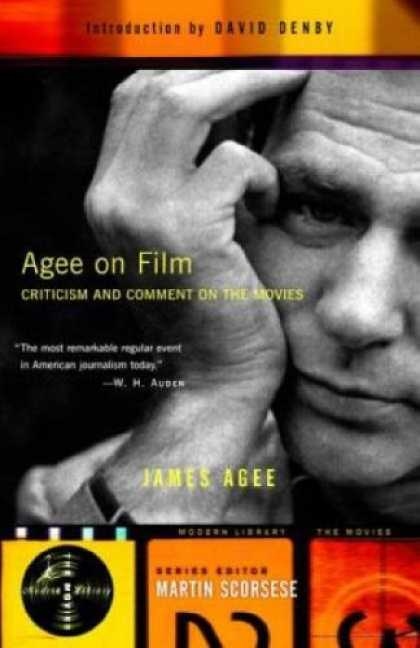 Books About Movies - Agee on Film: Criticism and Comment on the Movies (Modern Library the Movies)