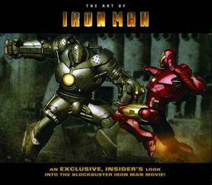 Books About Movies - Iron Man: The Art of Iron Man, the Movie