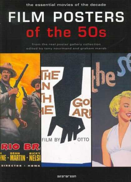 Books About Movies - Film Posters of the 50s: The Essential Movies of the Decade