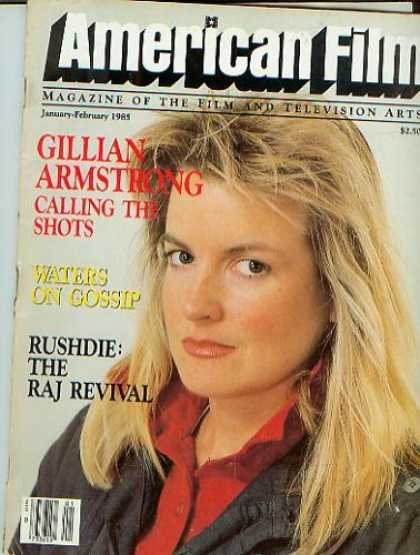 Books About Movies - American Film Magazine January-February 1985 Gillian Armstrong (Vol. X, No. 4)