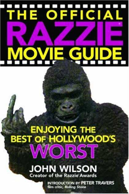 Books About Movies - The Official Razzie Movie Guide: Enjoying the Best of Hollywoods Worst
