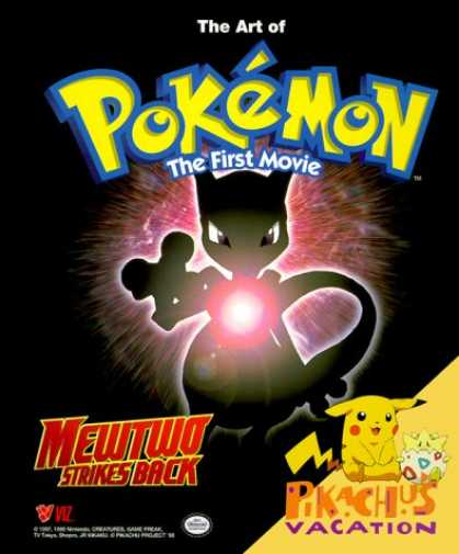 Books About Movies - The Art of Pokemon, The First Movie: Mewtwo Strikes Back!