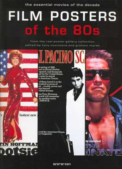 Books About Movies - Film Posters of the 80s: The Essential Movies of the Decade