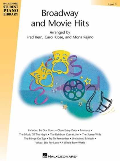 Books About Movies - Broadway and Movie Hits - Level 3: Hal Leonard Student Piano Library (Hal Leonar