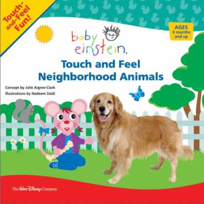 Books About Parenting - Touch and Feel: Touch and Feel Neighborhood Animals (Baby Einstein)