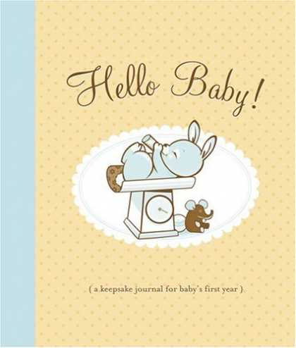 Books About Parenting - Hello Baby! Baby Book: A Keepsake Journal for Baby's First Year