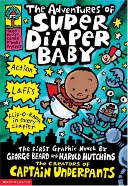 Books About Parenting - The Adventures of Super Diaper Baby