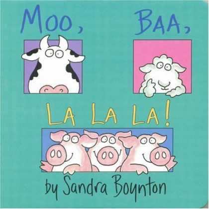 Books About Parenting - Moo Baa La La La