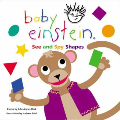 Books About Parenting - Baby Einstein: See and Spy Shapes