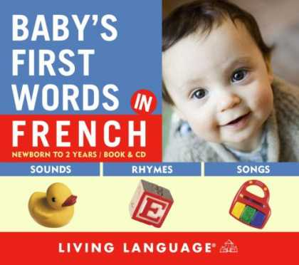 Books About Parenting - Baby's First Words in French